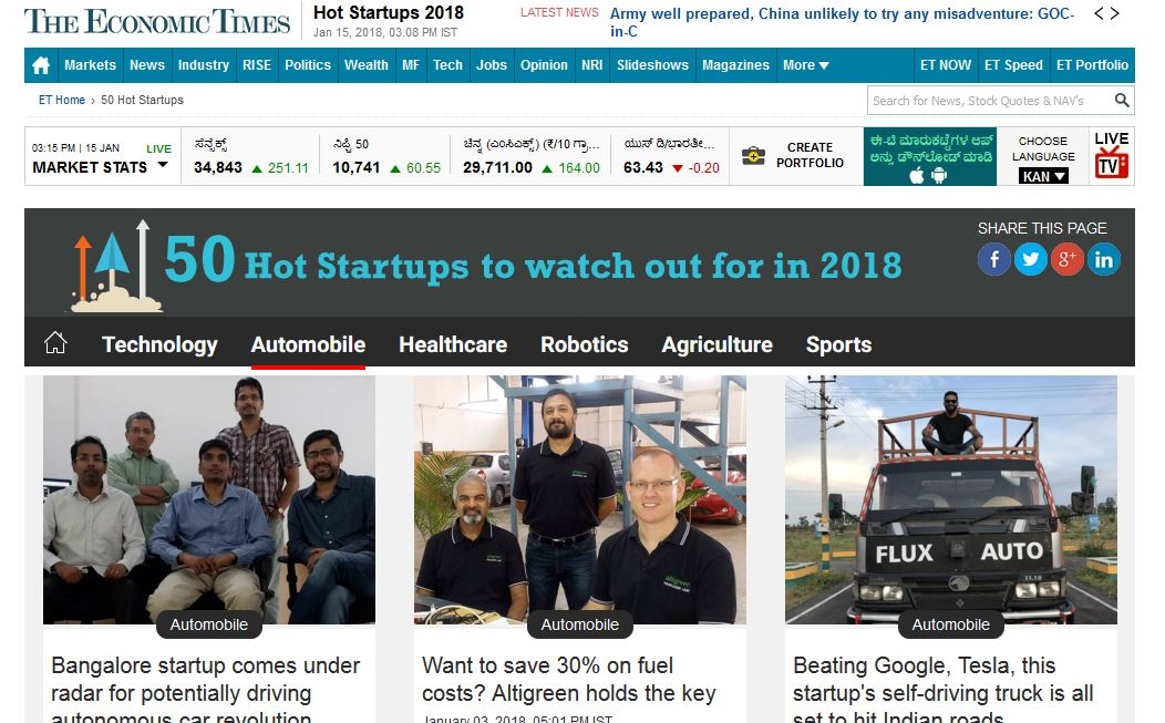 ET Hot Startup